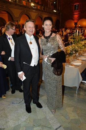 Peter Wallenberg jr and Klara Sydhoff Haugen.
