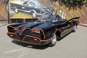 Batmans originalbil, batmobilen från tv-serien från 1960-talet, får inte kopieras hur som helst.