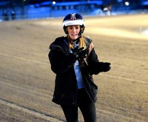 Maja Bäckman blev segerrikaste hästskötare på V75 2016.