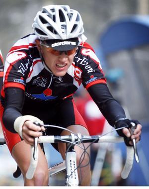 Cyklisten Kalle Sandell från Västerås. FOTO: ANDERS FORNGREN/ARKIV