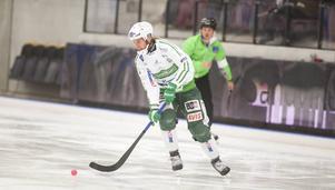 VSK-försvararen Patrik Sjöström satte ett frislag och en hörna i kvartsfinalen mot Dynamo Moskva.