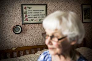 – Jag går inte och tänker på att jag blir 90 nu men samtidigt kan man inte komma i från att jag blir 90 nu. Men jag hade aldrig trott att jag skulle nå den här åldern, säger Karin Andersson.