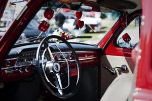 Nypolerad. Paret Petterssons Volvo PV är från 1961 och har gått 3 000 mil i Petterssons ägo.