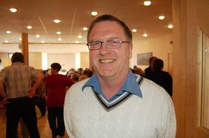 Föredragshållare. Lars-Erik Litsfeldt gick ner i vikt och blev kvitt sin diabetes när åt mer fett och mindre kolhydrater.