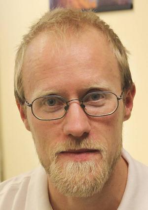 Martin Ersson, ST-läkare på hälsocentralen i Krokom.