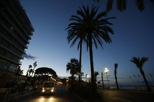 Promenade des Anglais efter terrordådet.