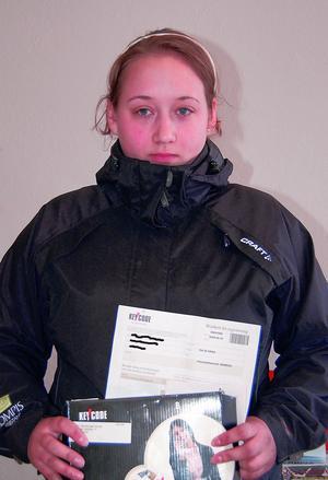 Britt-Marie Matsson känner sig lurad av säkerhetsföretaget Key Code Security. Foto:Börje Lindh