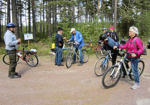 SPF Mora har i strålande försommarväder varit på cykelutflykt till Selberg.