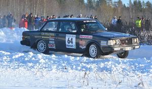 Patrik Flodin slutade fyra i Trimmat 2wd och var snabbaste förare i bakhjulsdriven bil.