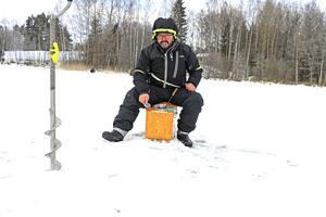 Insamlingskampanjen för cancerforskning fick Lars Wallberg att resa från Borlänge för att delta i Norarycket.