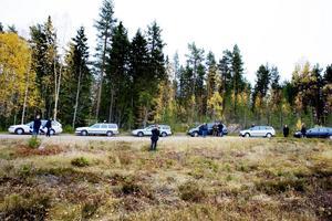 En lång karavan med bilar åkte med längs vägen. Samma väg som blev Madeleines sista i livet.