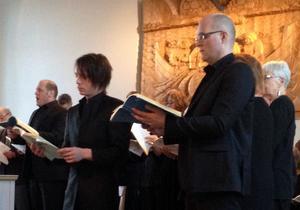 Några av solisterna: från vänster Mikael Stenbaeck, Klas Norberg och Fredrik Eriksson.