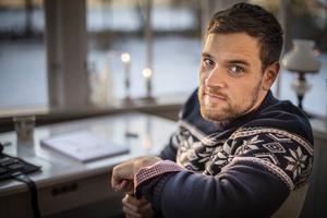 Alan Kamieniarczyk är Hälges nya tecknare.