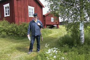 Janne Wahlman visade upp sig som knekt från gamla Alfta kompani.