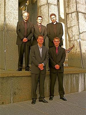 BLÅSARE. Kungliga Filharmonikernas Blåsarkvintett kommer på besök till Drottningen i Sandviken.