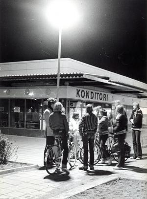 Bäckby centrum 1977.