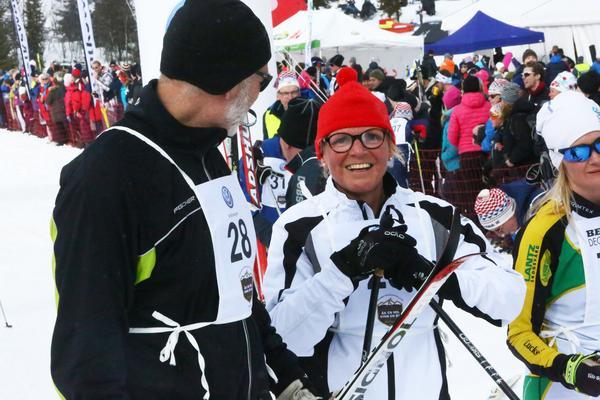 Per och Ann Löfving åkte för andra året i rad.