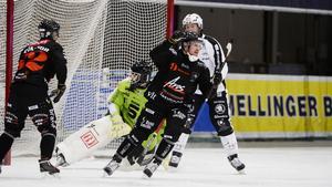 Emil Kaup ska spela med Västanfors i helgen.