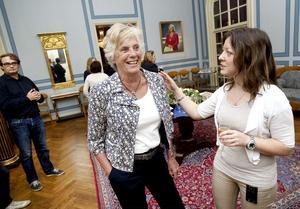 I går tackades Laila Nordfors av efter 44 år. Elena Yakushina, som jobbar på Gävle Turistbyrå, var en av de som ville fira henne.