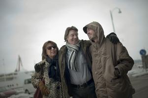 Léonore Ekstrand, Johannes Brost och Axel Petersén från filmen Avalon, som är en av höstens filmer hos filmstudion. Det blir mycket nordisk film under hösten.