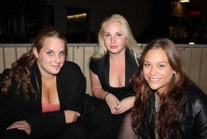 Tabazco. Alexandra, Kajsa och Evelina