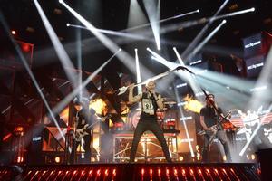 Eclipse med sångaren Erik Mårtensson i spetsen är årets melodiösa hårdrocksbidrag i Melodifestivalen.