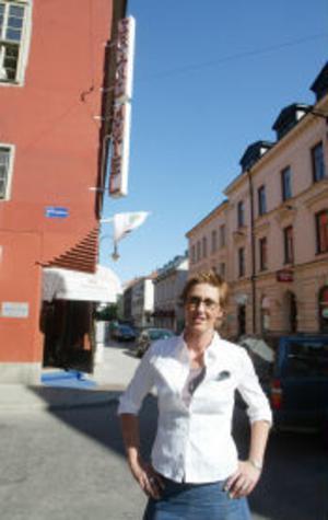 Ulrika Sahlin, ny hotelldirektör på Grand Hotel.