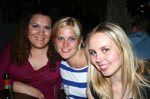 Tabazco. Alexandra, Monica och Anna-Karin