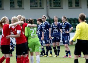 Sundsvall DFF fick inte jubla den här gången heller. Laget släppte in 1–2 i den 84:e minuten och blev utan poäng mot QBIK.