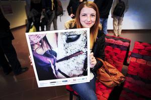 Gry Jälkentalo vann sin bild i kategorin Liv, där hon tagit en selfie på sig och en häst.