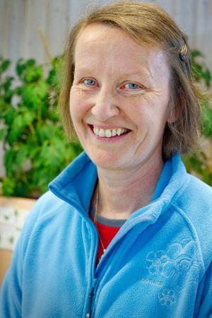 Rita Sjöström, sjukgymnast vid Strömsunds hälsocentral leder arbetet med Artrosskolor i länet.