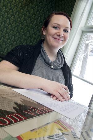 Amelia Königsson från Söderhamn hade nerverna under kontroll.