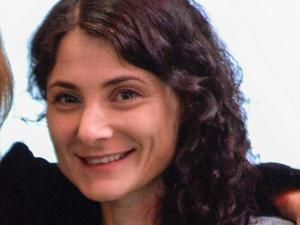 Paulina Sokolow, auktonsfirman Bukowskis presstalesperson. Hon bedömer att konstförsäljningen globalt kommer att fortsätta minska något i år. Arkivbild.   Foto: Per Larsson / TT