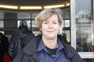 Kommunpolis Carola Wiklund. Foto: Therese Söderlund