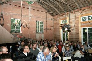 Musikkvällarna i Spiksmedjan i Gränsfors lockade mycket folk och det ska bli en fortsättning nästa år.