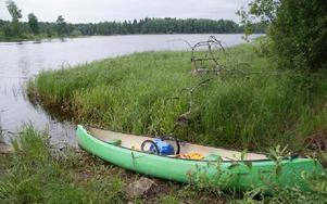 Bys andra kanotled invigdes på lördagen.FOTO: KERSTIN ERIKSSON