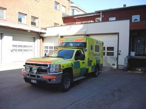 Ambulansstationen i Rättvik.