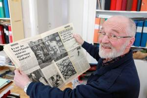 Ivar Grinde har lämnat över företaget till sonen Albin.– Men visst är jag med mig och bryr mig i fortfarande, säger 73-årige Ivar.