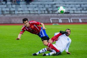Andrés Thorleifsson, 27 mål för BKV i seriespelet 2013, kan vara på väg till en allsvensk klubb.