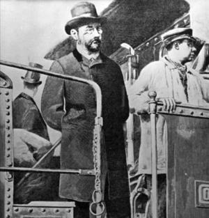 Emile Zola, fransk författare.