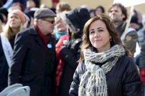 i Stockholms läns landsting tycker sjukvårdslandstingsrådet Filippa Reinfeldt att det är rimligt att hennes medarbetare varnar landstingsanställda för sossarna.