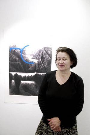 """En inre äventyrare. """"Bergens tankar"""" är ett av Kirstie Ekelund utforskningsområden."""