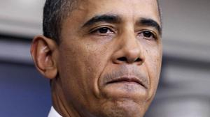 Barack Obama kan hålla sig för skratt sedan ännu ett försök till budgetsanering nu gått om intet.