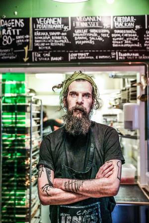 Peter Boije, kock på Café Tingshuset