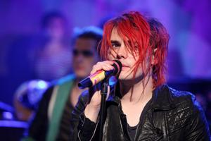 Gerard Way från bandet My Chemical Romance är en emo-förebild för många. Foto: Amanda Schwab / TT