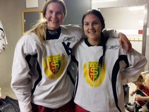 Maja Bohlin och Amalia Zackrisson gjorde målen i Svegs segermatch mot Örebro.