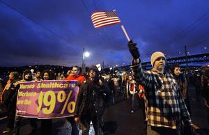 Med exakt ett år kvar till presidentvalet har Occupy Wall Street gjort de ökade klassklyftorna i USA till en av landets hetaste frågor.