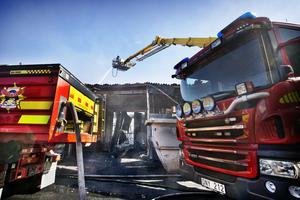 Branden på Cassandra Oil dagen efter.