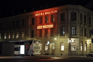 Hotel Baltic i Sundsvall i natt.