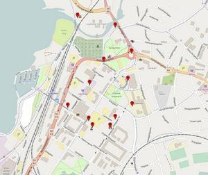 Här finns den offentliga konsten i Ludvika. På dt.se/ledare finns interaktiva kartor där du kan läsa om varje konstverk.